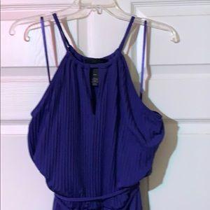 Lane Bryant Purple Dress Size 14/16